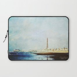 On The Front Textured Fine Art Photograpy Laptop Sleeve