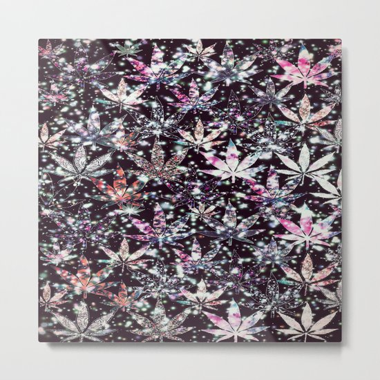 gorgeous weed-126 Metal Print