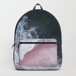 I love the sea - heart and soul Backpack