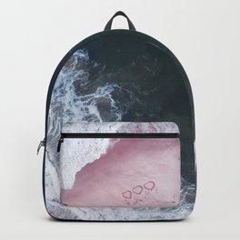 I love the sea - heart and soul Backpack