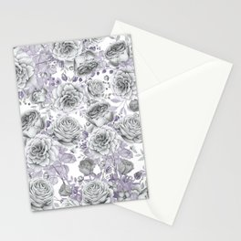 FLOWERS WATERCOLOR 30 Stationery Cards