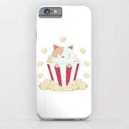 Kitty Popcorn iPhone Case