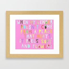 tenderqueerthings #3 Framed Art Print
