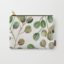 Silver Dollar Eucalyptus – Green Palette Carry-All Pouch