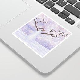 snowman joy Sticker