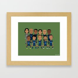 Paris Saint-German 2013 Squad Framed Art Print