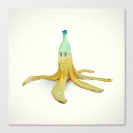 Banana Peel - Kart Art Canvas Print