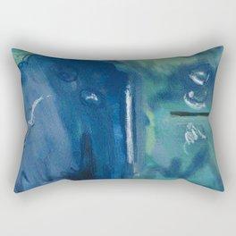 Murky Depths Rectangular Pillow