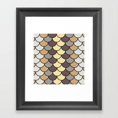 Caffeine Tones Framed Art Print