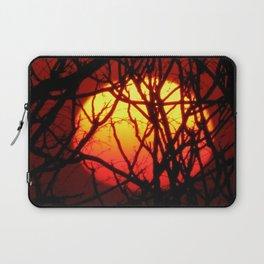 Burning Red Sunset Laptop Sleeve