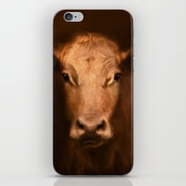 Cow 187 iPhone Skin