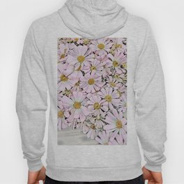 pink daisy in bloom in spring Hoody