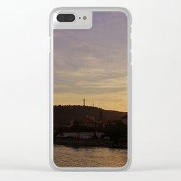 Vltava Sunset Clear iPhone Case