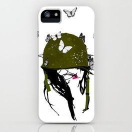 Fight the Good Fight iPhone Case