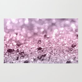 Unicorn Girls Glitter #7 #shiny #pastel #decor #art #society6 Rug