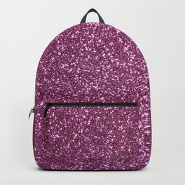 Pink Lavender Glitter with Silvery Highlights Backpack