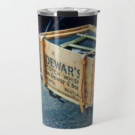 Whiskey box on a vintage car side board Travel Mug