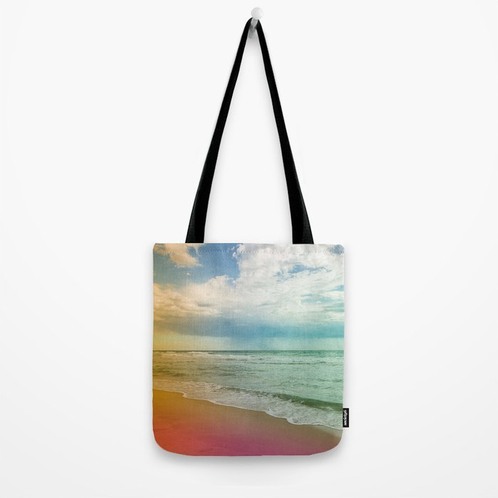 Beach in Colours Tote Bag