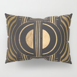 Art Deco Unfinished Love Pillow Sham
