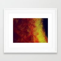 desert Framed Art Prints featuring desert by donphil