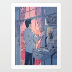 Do You Ever Get Lonely? Art Print