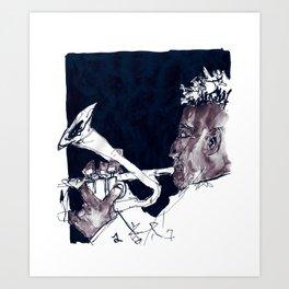 christian scott Art Print