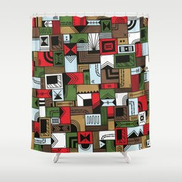 Not Home Alone Shower Curtain