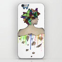 Metamorphosis Girl iPhone Skin