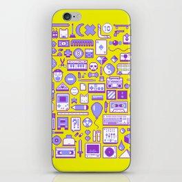 """""""Childhood Memories"""" pixel art poster iPhone Skin"""