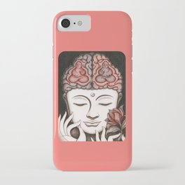 How meditation changes your brain... and makes you wiser? iPhone Case