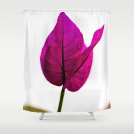 flower photography by Jason Leung Shower Curtain