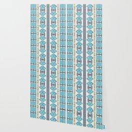 Greek Meander Pattern - Greek Key Ornament Wallpaper