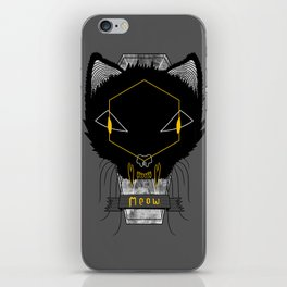 Le Chat Sinistre iPhone Skin