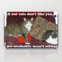 meme iPad Cases featuring Cat Meme by Frankie Cat