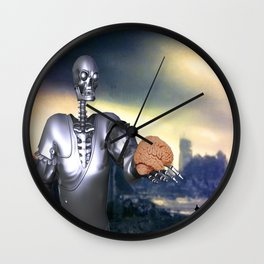 Hamlet Science-Fiction Wall Clock