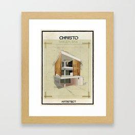 Christo+Shigeru Ban Framed Art Print