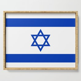 Flag of Israel Serving Tray