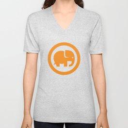 Conservation Nation Elephant Unisex V-Neck