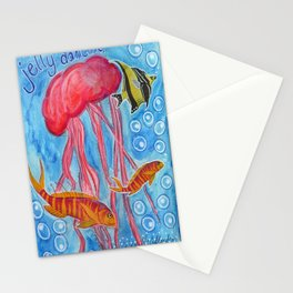 Jelly Fish Stationery Cards