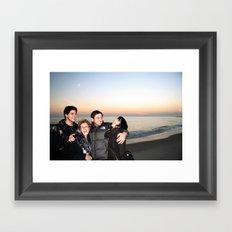 my family Framed Art Print