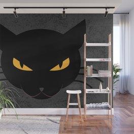 Evil Kitty Wall Mural