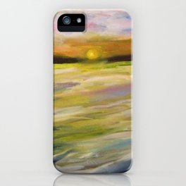 Sunset at Good Harbor Beach iPhone Case