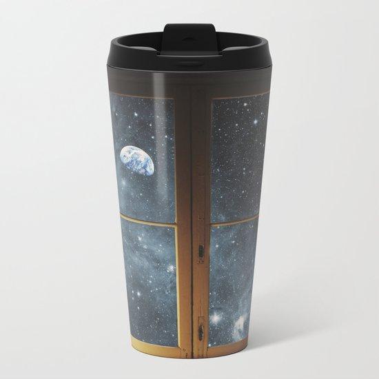 WINDOW TO THE UNIVERSE Metal Travel Mug