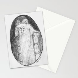 Albus Percival Wulfric Brian Dumbledore Stationery Cards