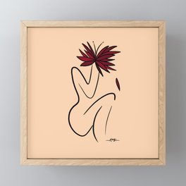Grow from Within Framed Mini Art Print
