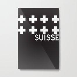 Suisse//One Metal Print