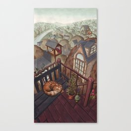 Treehouses Canvas Print