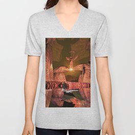 The angel of death Unisex V-Neck