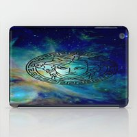 versace iPad Cases featuring Versace Nebula  by RickyRicardo787