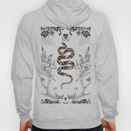 Rose Gold Snake Hoody